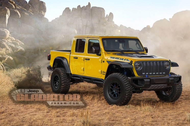 "Is Jeep Working Up a Raptor-Rivaling Gladiator ""Hercules"" Off-Roader?"