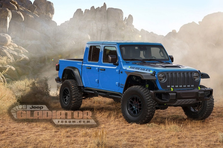 2021 Jeep Gladiator Hercules Forum Rendering 02 Blue