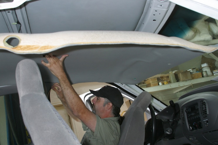 24 Ford F Series Headliner Replace