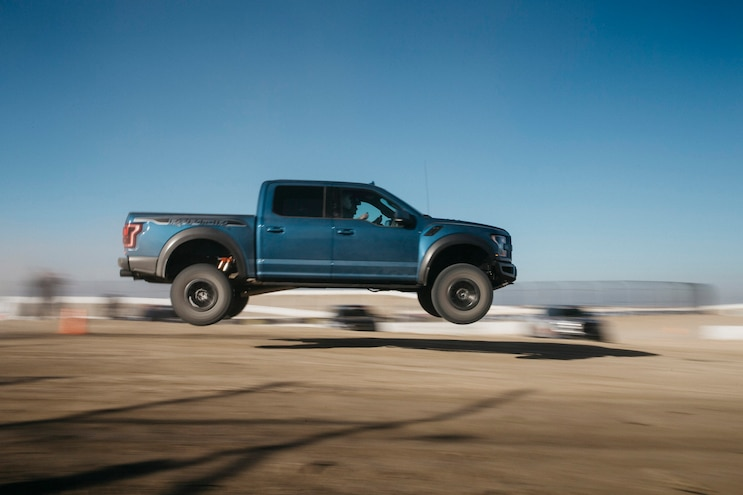 First Drive 2019 Ford F 150 Raptor Jump