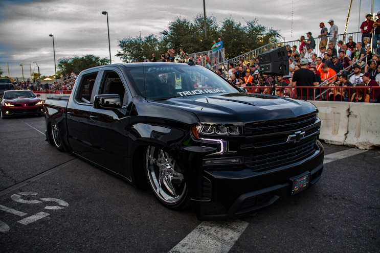 Roll Out 2018 Sema Cruise Chevy