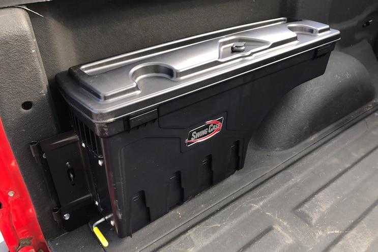 Swingcase Truck Bed Toolbox Install 009