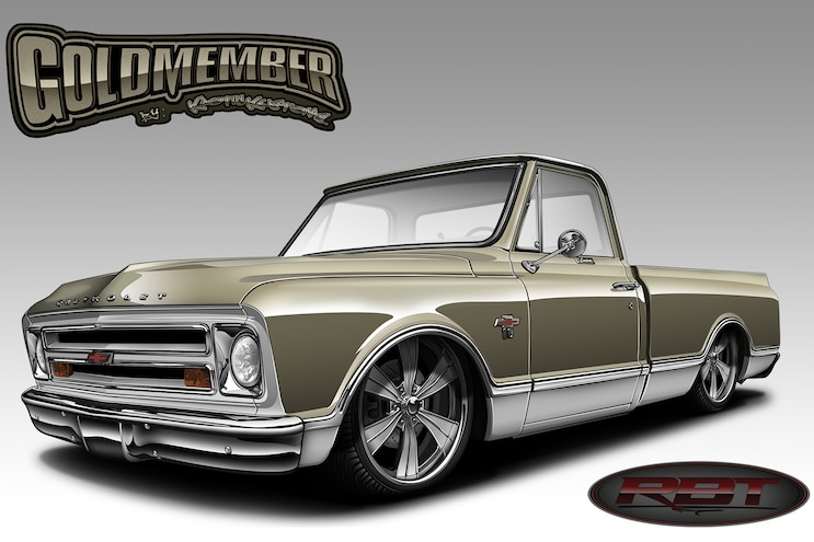 01 1968 Chevy C10 Project Goldmember