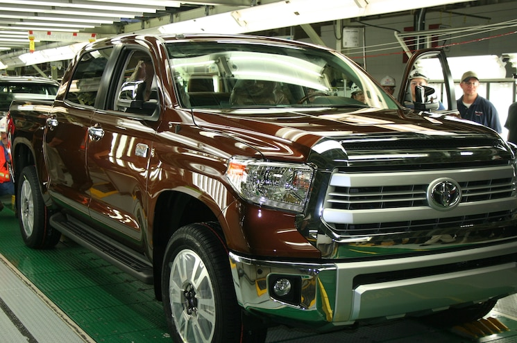Toyota Truck Production Halted by Texas Storm