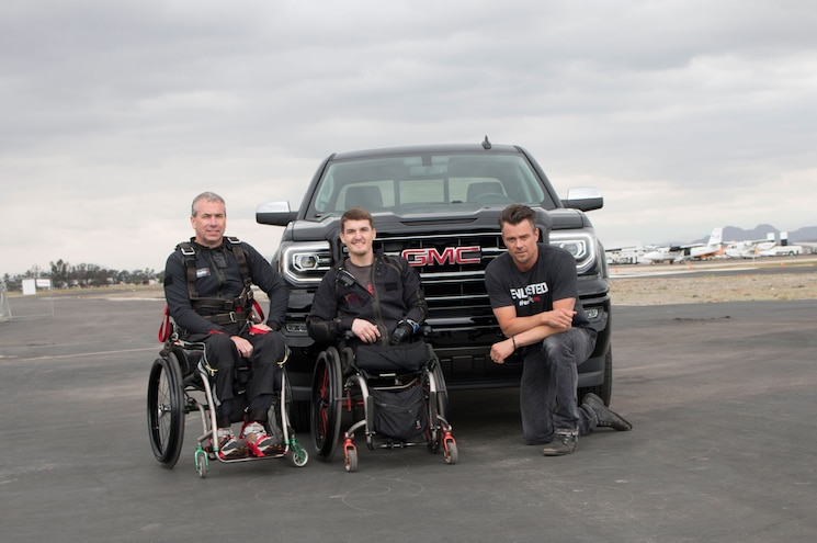 GMC Raises Awareness for Wounded Veteran Smart Home Charity