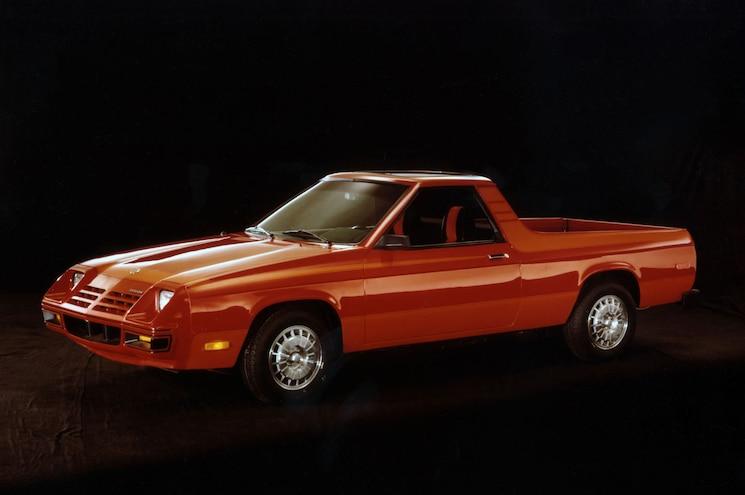 1982 Dodge Rampage Left Side