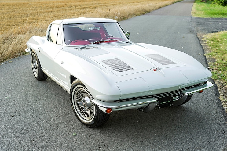 Shop Class Where Are The Cars 1963 C2 Corvette Coupe Sting Ray Mitchell Motor Trend
