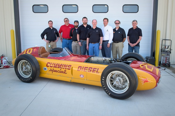 VIDEO: Cummins Wakes 1952 Diesel Special Indy Car After Years of Slumber