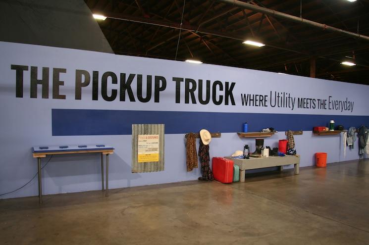 Ca Auto Museum Truck Exhibit Display Lettering