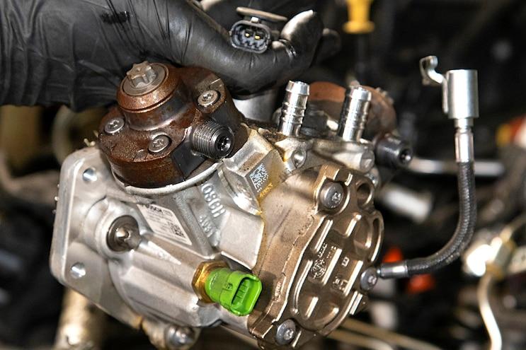 010 Lml Duramax Cp4 To Cp3 Cp4 Fuel Temp Sensor