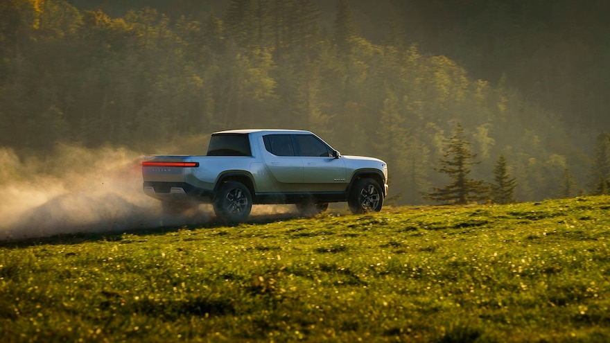 Rivian Automotive Files Patent for Auxiliary Removable Battery