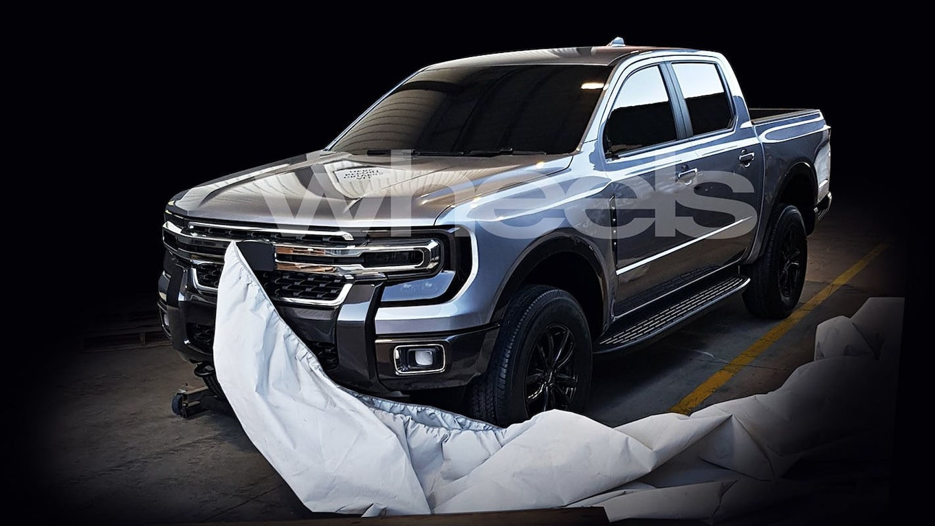 possible sighting  redesigned 2021 ford ranger