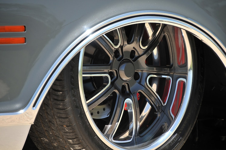 Battleship 1969 Chevy C10 Wheel