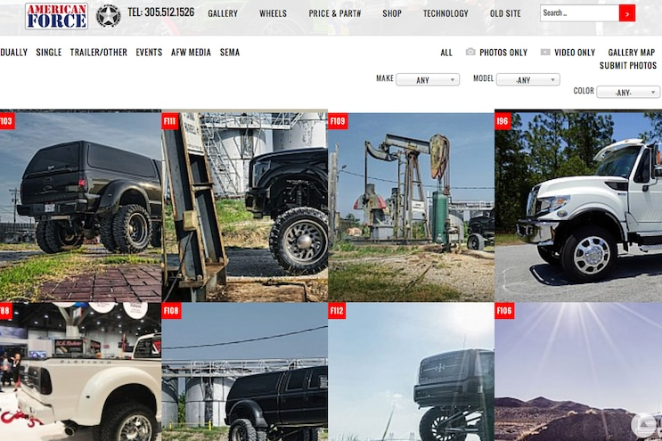 002 Auto News 8 Lug Work Truck American Force Wheels New Website Truck Configurator Tool Parts Prices Gallery