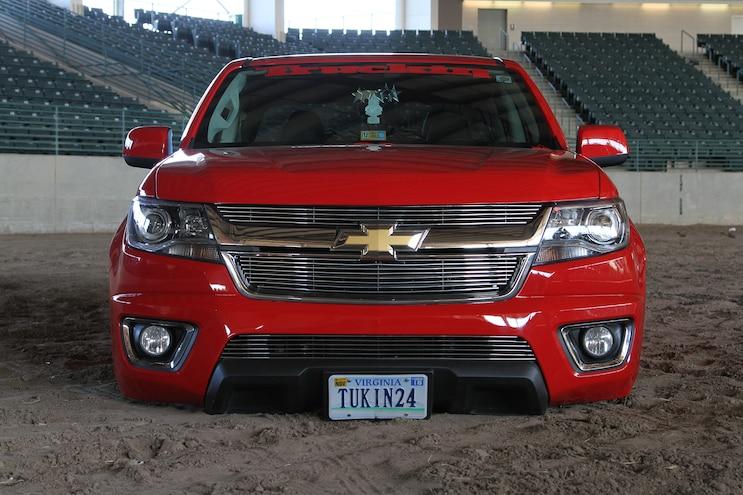 11 2015 Chevrolet Colorado Red Devil