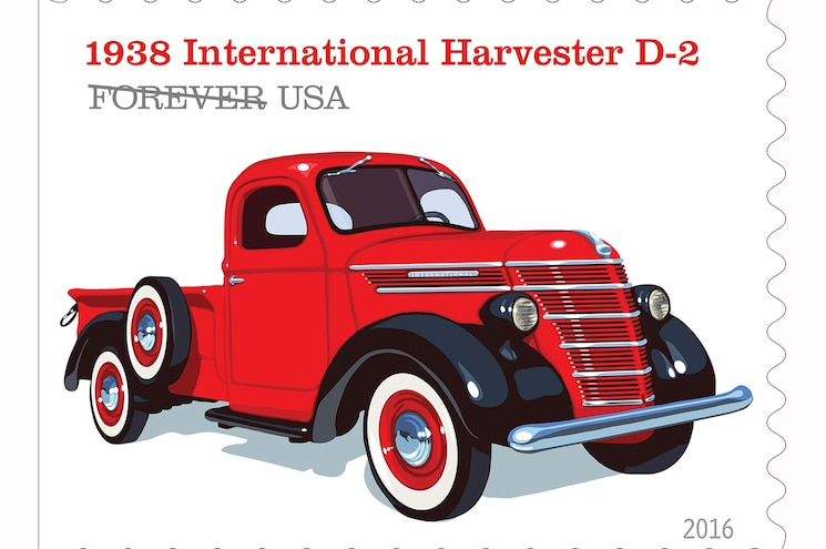Postal Service to Issue Pickup Trucks Forever Stamps in July