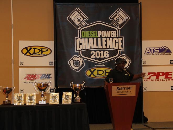 Diesel Power Challenge 2016 Awards Ceremony Kj Jones