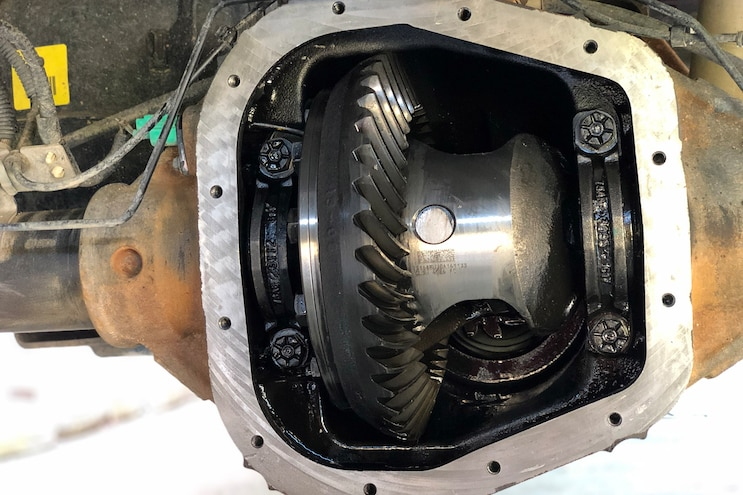 Ford F150 Mag Hytec Differential Cover Install 010