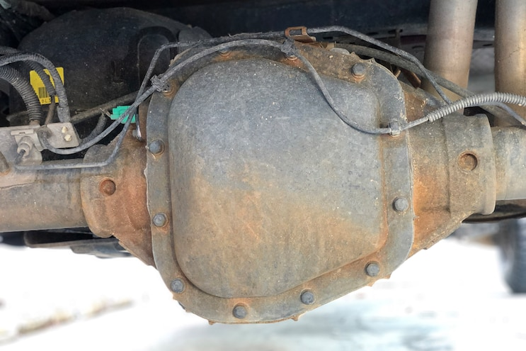 Ford F150 Mag Hytec Differential Cover Install 006