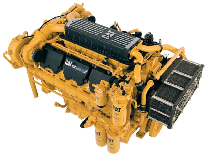 Caterpillar 32 1L Marine Engine - Twin Turbo - Diesel Power Magazine