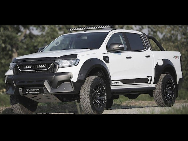 M-Sport Turns A Ford Ranger Into Mini Raptor
