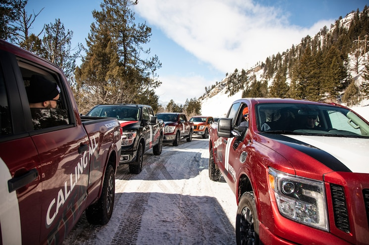 Nissan Titan Adventure Idaho Group Of Trucks
