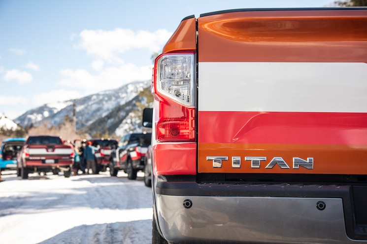 Nissan Titan Adventure Jackson Hole 2019 Nissan Titan Rear Badge
