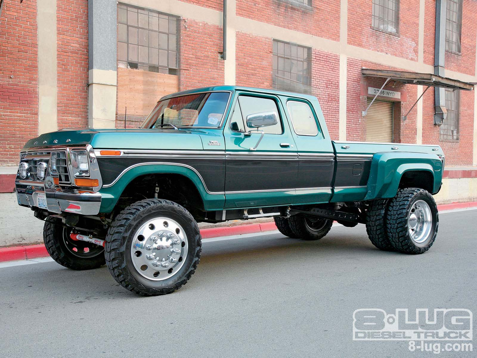 1978 Ford Dually Pickup Custom Diesel Trucks 8 Lug Magazine