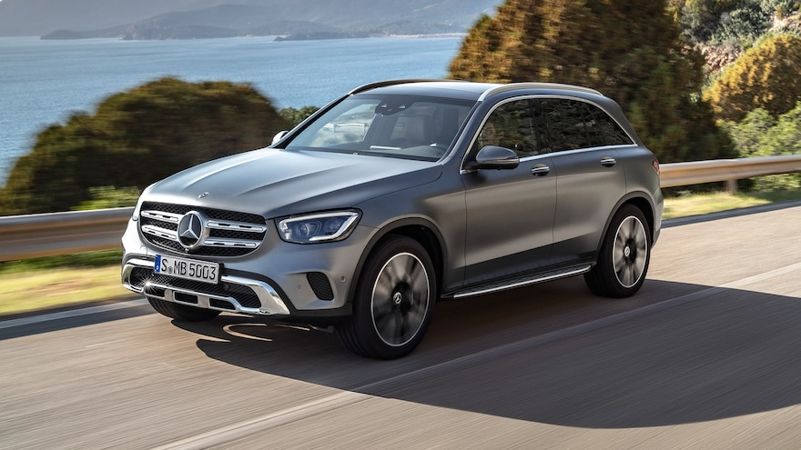 Mercedes-Benz Updates GLC and GLC Coupe for 2020