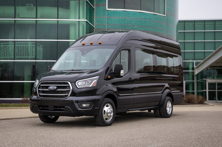 Ford Updates Transit Van and Wagon for 2020