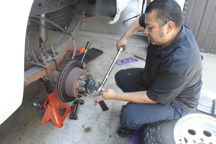 048 Correcting The Axle Gear Ratio