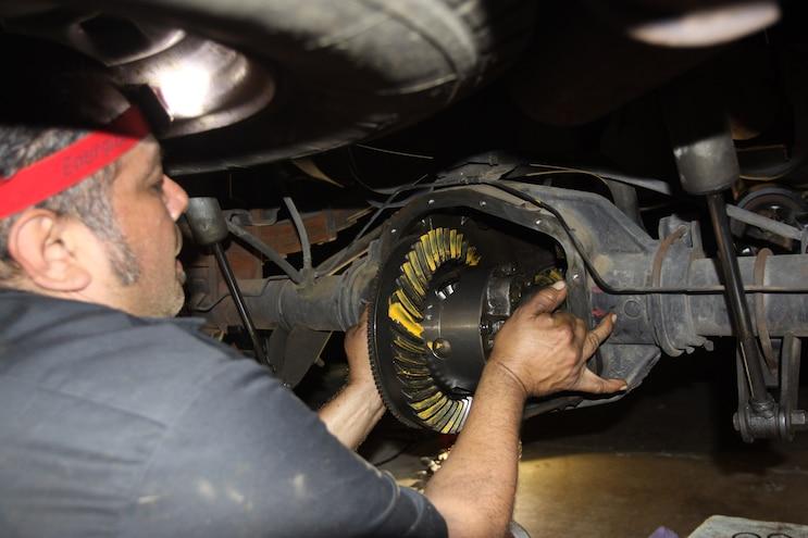 035 Correcting The Axle Gear Ratio