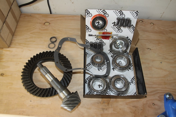 022 Correcting The Axle Gear Ratio