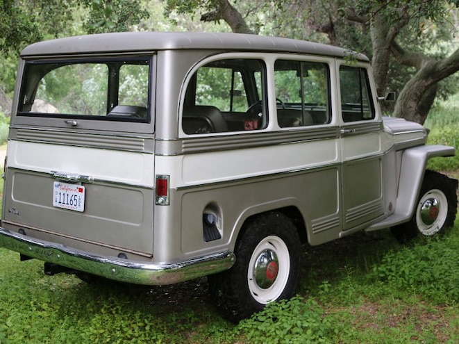 1960 Willys Overland Rear Three Quarter