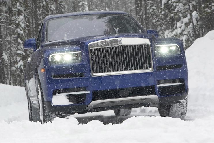 2019 Rolls Royce Cullinan First Drive