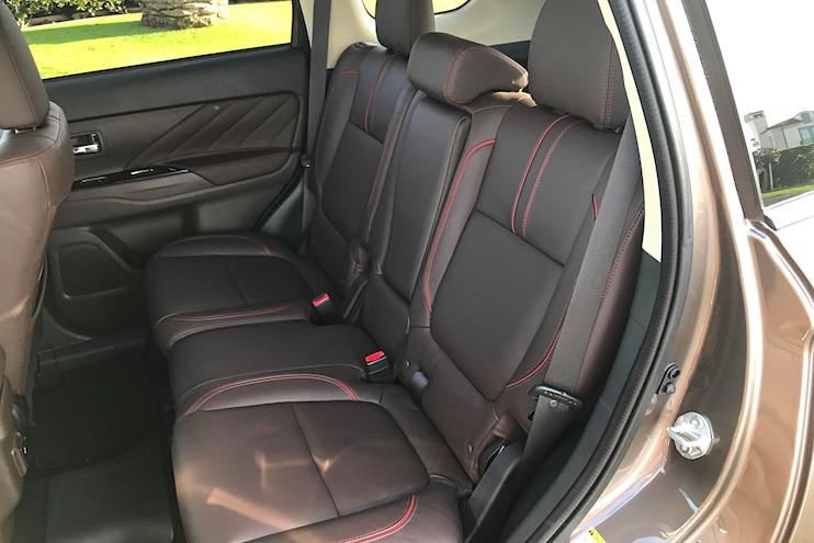 Daily Driven 2018 Mitsubishi Outlander PHEV Interior Back Seats