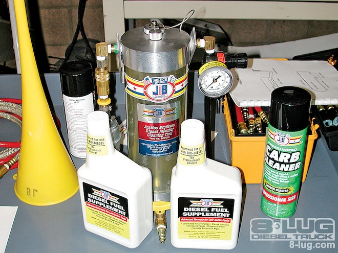 Servicing a 2002 Ford Expedition - Injection Protection