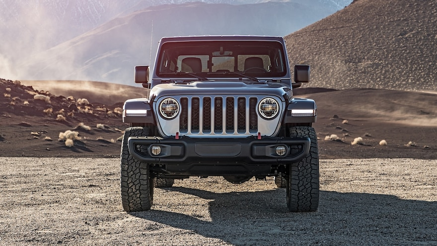 2020 Jeep Gladiator Rubicon Front View