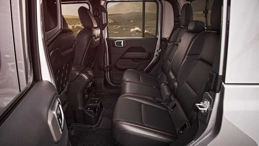 2020 Jeep Gladiator Rubicon Interior Rear Seat