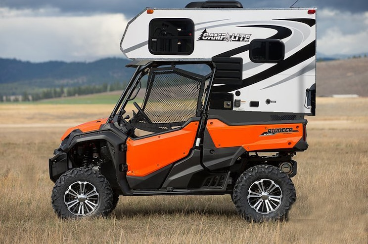 April Fools Poly Performance Utv Camper