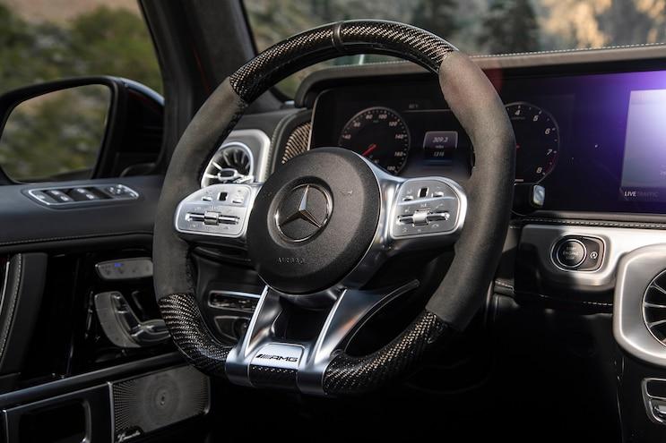 2019 Mercedes Benz G Class First Drive Interior Steering Wheel