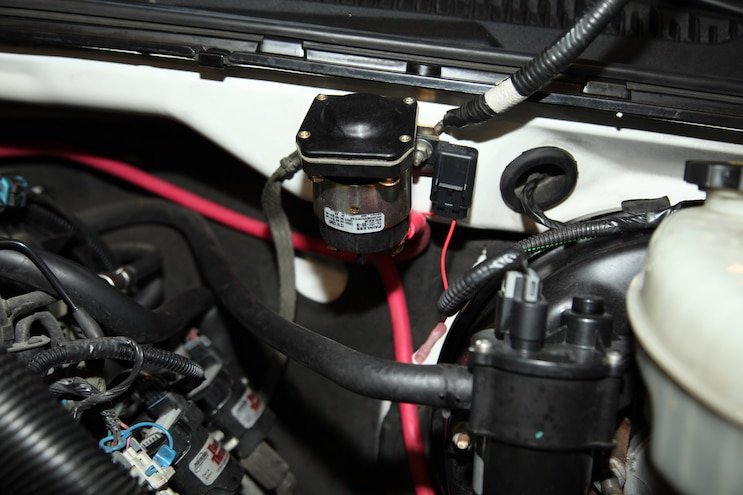 [DIAGRAM_38ZD]  Project Over/Under: Part 9- Adding Dual Batteries and a High-Output  Alternator | Chevy Silverado Aux Battery Wiring |  | Truck Trend
