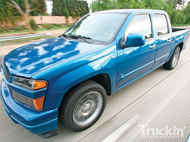 2009 Chevy Colorado V8 - 5 3L Engine - Truckin' Magazine