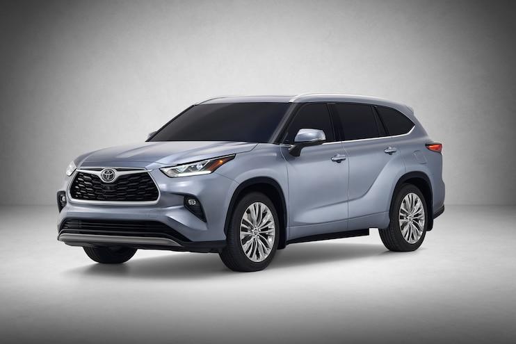 2019 New York International Auto Show First Look 2020 Toyota Highlander