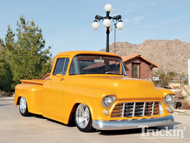 1956 Chevy Truck right Front Angle