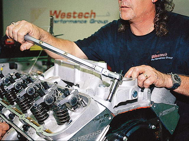 502 Chevy Big Block Buildup - Crate Engine - Westech