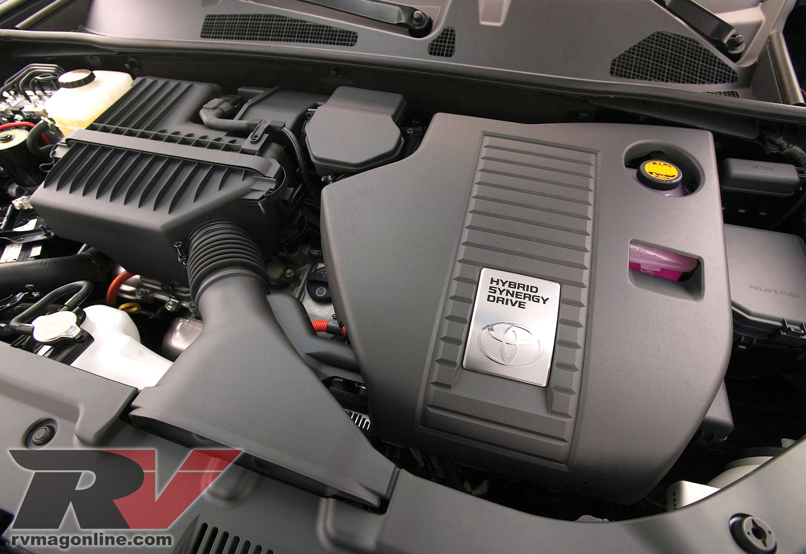 0906rv 03 2008 Toyota Highlander Hybrid Engine View Photo Gallery 4 Photos