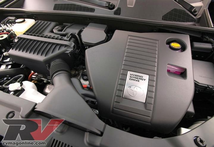 0906rv 03 2008 Toyota Highlander Hybrid Engine
