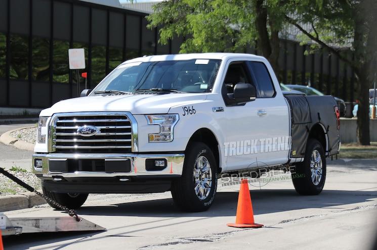 2018 Ford F 150 Diesel Front Quarter 04