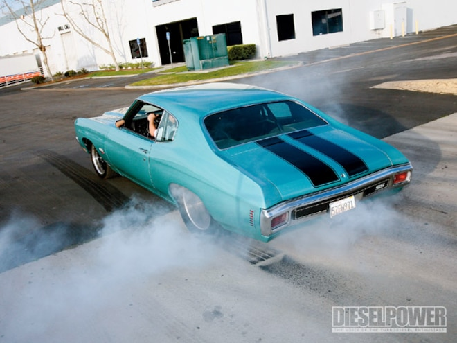 1970 Chevy Chevelle burnout